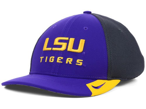 LSU Tigers Nike NCAA Conference Legacy 91 Team Color Charcoal Hat (Nike Coaches Gear)