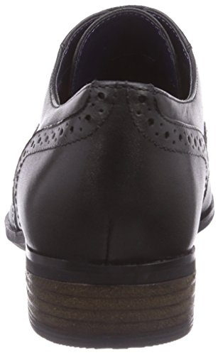 black Oak Brogues Hamble Clarks Leather Femme Noir pRqaygy
