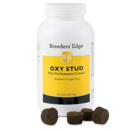 - Revival Animal Health Breeders' Edge Oxy Stud Soft Chews Medium & Lg Dog 60ct