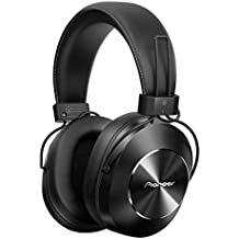 Pioneer Bluetooth and High-Resolution Over Ear Wireless Headphone, Black (SE-MS7BT-K)