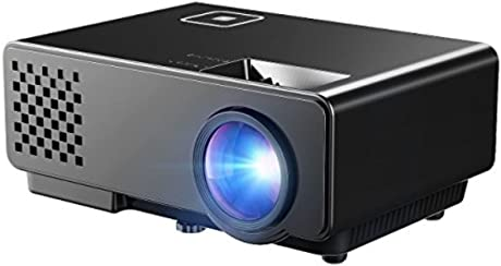 Mpow LCD Projector Mini Portable Multimedia Home Theater with USB AV HDMI VGA LED Projector for Video Game Movie Backyard Cinema