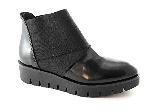 chaussures bottes Nero femmes PREGUNTA élastiques 56504 noires nq8FFU
