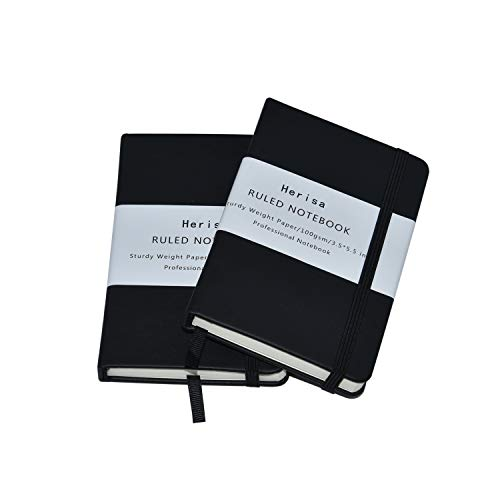 2Pack Pocket Notebook Pocket Size 3.5
