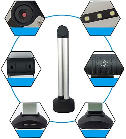 Ctzrzyt Portable High Speed USB Book Image A4 Document Camera Scanner with 8.0MP Camera School Office Bank Library High-Definition