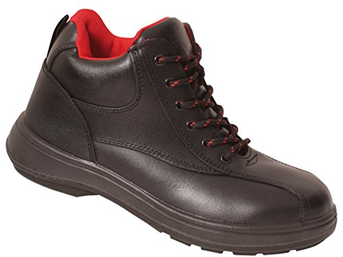 Lace Safety With Ladies' Rock Up Black Boots Fall VX500 Vixen Emerald Midsole Rockfall WxAv8RwYqw