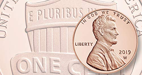 2019 W Lincoln Penny Cent Proof US Mint