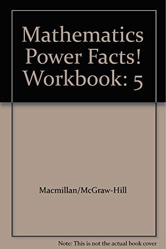 Mathematics Power Facts! Workbook: 5 -  Macmillan, Teacher's Edition, Paperback
