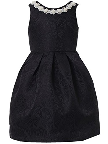 Happy Rose Girl's Dress Vintage For Special Occasion Black 2