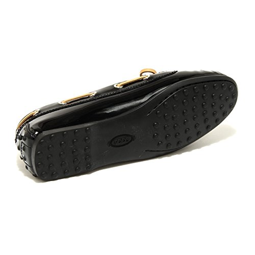 Women Scarpa Nero 42818 Shoes Donna Loafer Mocassino Tod's ZxHP6