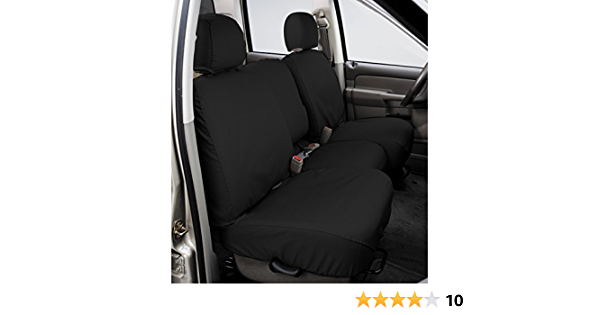 Covercraft SS2485PCCH Seat Cover Seat Covers Charcoal Black