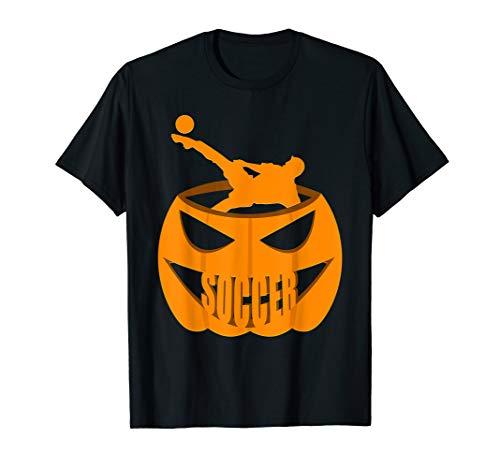 Soccer Pumpkin Costume T-Shirt October 31st]()