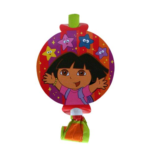 Dora Star Catcher Blowouts - 8 Count