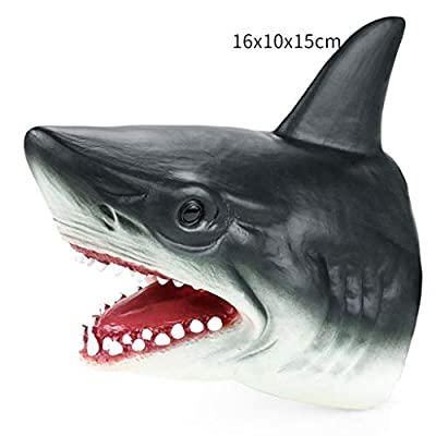 Fineday Education Toys for Kids, Shark Hand Puppet Soft Kids Toy Gift Great Cake Decoration Topper Jaws Children, Toys and Hobbies HotSales (As Show): Home & Kitchen