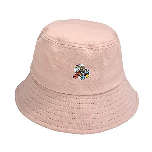 c98d13352d932e WAYATI Skateboard shoes pattern embroidery small fresh fisherman hat ladies  summer wild hat hat sun visor