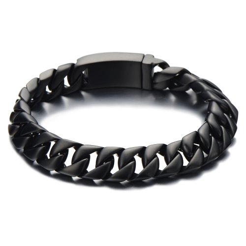 Masculine Stainless Steel Bracelet Finishing product image