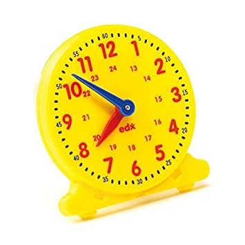 EARLY YEARS Pupil Clock - Tell the Time - 12 HOUR & 24 HOUR Clock ...
