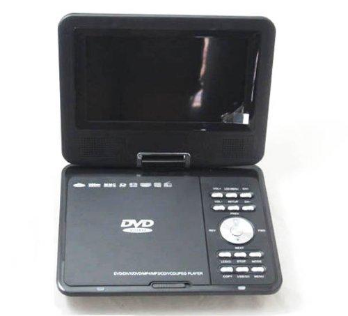 9.5″ Portable Widescreen DVD Player + TV + CD + Games
