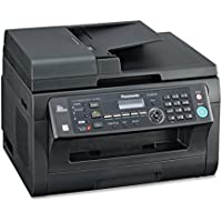 Panasonic - Panasonic Multifunction Printer, Laser, 20 Sht Cap,16-1/2x17x12, BK