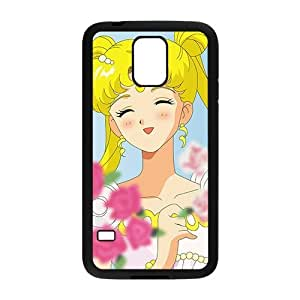 Lovely beautiful girl Cell Phone Case for Samsung Galaxy S5
