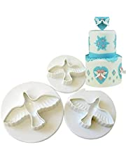 cookie cutter cake mold fondant biscuit baking tool set of 3