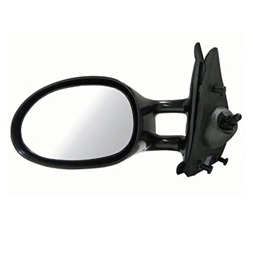 Manual Remote Side View Door Mirror Left Hand LH Driver Side for Stratus Breeze ()