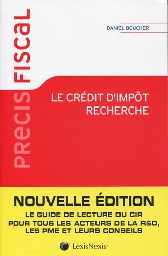Download le crédit d'impôt recherche (3e édition) PDF