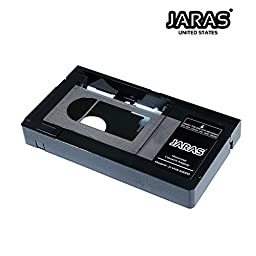 Jaras Jj-Vhs-M1000 Motorized Vhs-C Video Cassette Premium Adapter