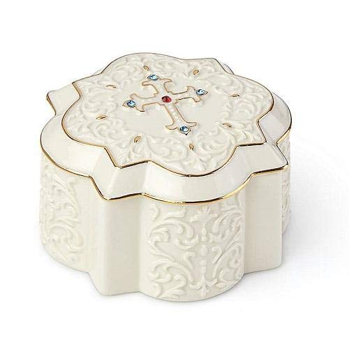 Lenox Cross Treasure Box
