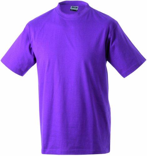 Single Round manga t redondo S Hombre de Talla Camiseta P jersey Estampado corta Camiseta Cuello heavy 5xl RvtnxX