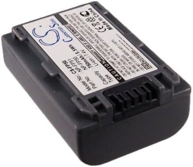 Replacement Battery for Sony DCR-HC19E DCR-HC20E DCR-HC21E DCR-HC22E DCR-HC23E DCR-HC24E DCR-HC26 DCR-HC26E DCR-HC30 DCR-HC30E DCR-HC30G DCR-HC30L DCR-HC30S