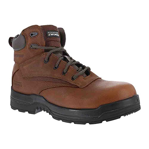 Rockport Work Men's RK6628 Work Boot,Deer Tan,6.5 W US by Rockport