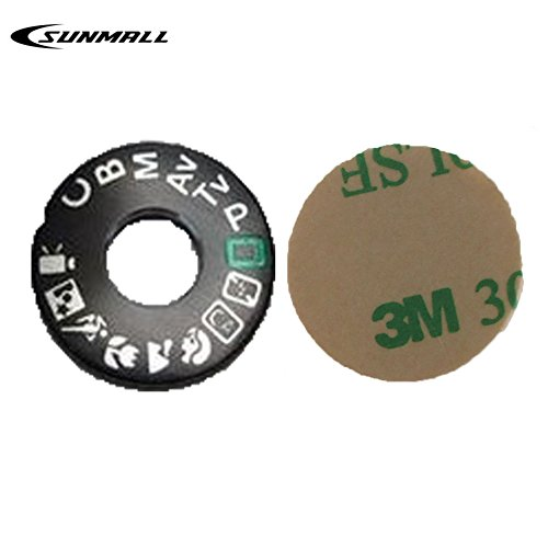 SUNMALL Interface Cap Button Replacement Part for Canon 60D,Dial Mode Plate for Canon 60d, DSLR Digital Camera Repair Accessories for Canon EOS 60d(6 Months Warranty)