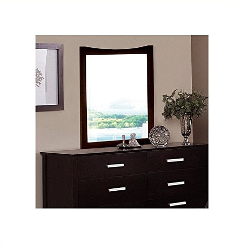 Coaster 5634 Casual Contemporary Mirror, - Dresser Cappuccino Mirror