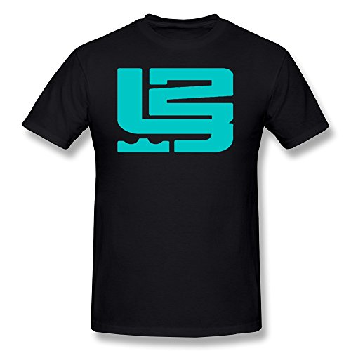 Price comparison product image LENOJE Men's Special Designed LeBron Raymone James 23 Logo Cotton Tee Shirts