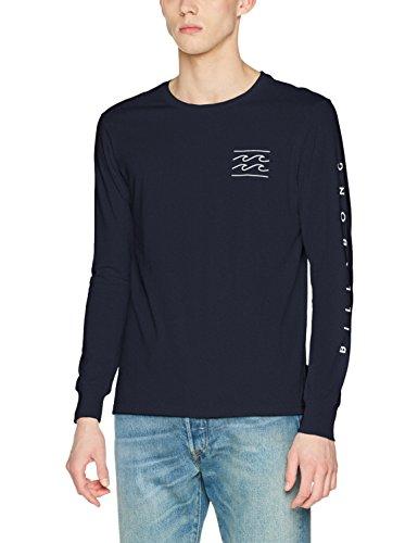 G.S.M. Europe - Billabong Herren Dual Unity Tee Ls Shirt und Hemd, Navy, One size