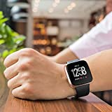 GHIJKL Bands Compatible with Fitbit Versa/Fitbit