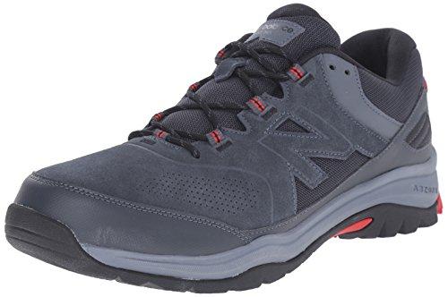 New Balance Men's MW769BR Walking Shoe, Grey/Red, 9 D US