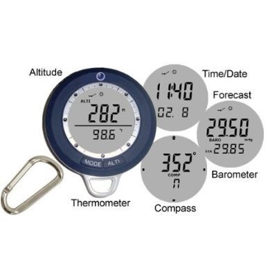 SportMax® Multifunction Digital Compass + Altimeter + Weather