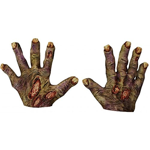 [Rotted Zombie Gloves] (Rotten Flesh Men's Costumes)