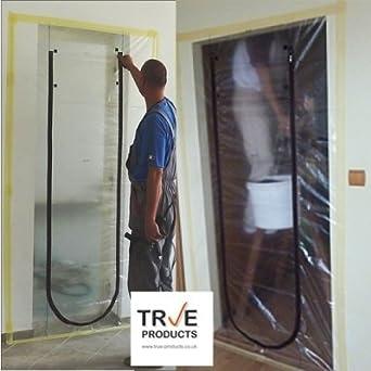 True Products Dust Stop Zip Door Kit Pre Assembled For