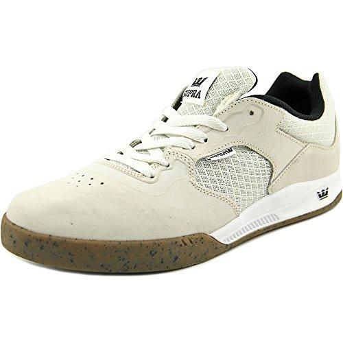 Supra Men's Avex White/Gum Skate Shoe 13 Men US