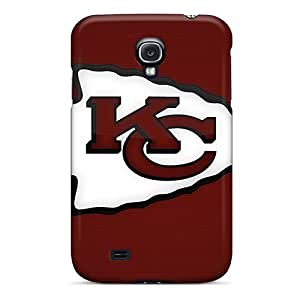 Bumper Hard Phone Covers For Samsung Galaxy S4 (Mlt5296lhZJ) Support Personal Customs Fashion Kansas City Chiefs Pictures