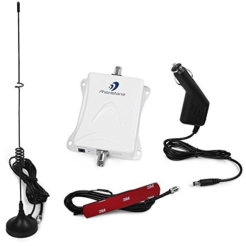 Phonetone Band 5 850MHz 3G GSM CDMA for Repeater Cell Phone Signal Booster with Antennas Signal Repeater kit for Car Can Boost Voice [並行輸入品]   B07DZLLMRP