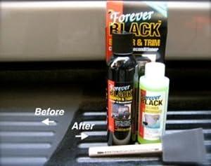 Forever Black Bumper & Trim Dye Kit