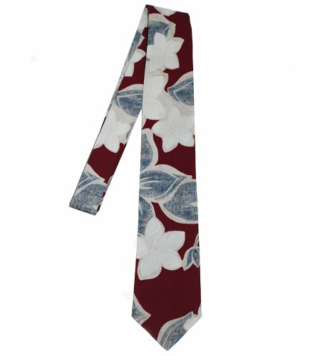 Hawaii Neckties - Brown Flower (Hawaii Tie)