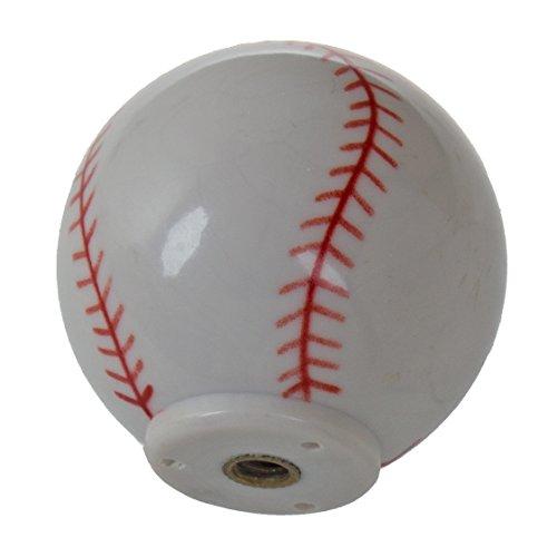 GlideRite Hardware 1001-BB-10 Baseball Sports Cabinet Dresser Knobs 10 Pack by GlideRite Hardware (Image #1)