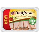 OSCAR MAYER LUNCH MEAT COLD CUTS DELI FRESH HONEY SMOKED TURKEY BREAST 16 OZ PACK OF 2