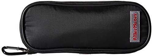 Allergy Medicine Carrying Case for EpiPen and Auvi-Q injectors & inhalers: Solid Black