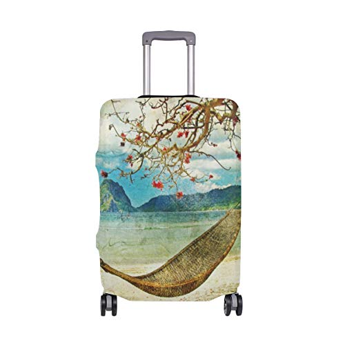 Suitcase Cover Suitcase Artwork Painting Luggage Cover Travel Case Bag Protector for Kid Girls Luggage Cover Travel Case Bag Protector for Kid Girls 18