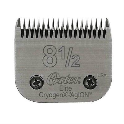 Oster Elite CryogenX AgION Grooming Clipper Blade Size 8.5, 8 - Blade Clipper Agion